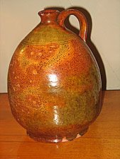 SOLD  Redware Jug