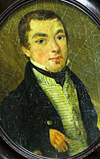 A Miniature Portrait of Edward Wilkes