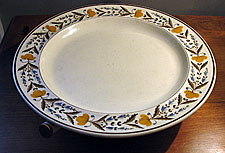 Creamware Hot Water Plate