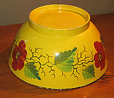 SOLD  A Canary Yellow Bowl