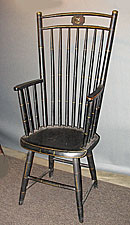 1804 Philadelphia Rod-back Armchair.