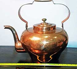 Oversized Copper Kettle