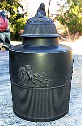 Black Basalt Tea Canister