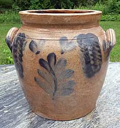SOLD  Pennsylvania Stoneware Crock