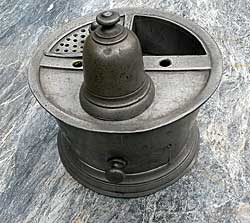 SOLD  Pewter Inkwell