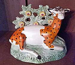 Yorkshire pottery Deer