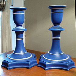 Pair of Wedgwood Candlesticks SOLD