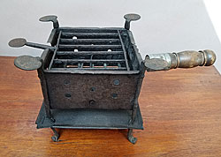 A working Revolutionary War Camp Stove