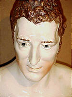 SOLD  Pearlware Portrait Bust of Wellington