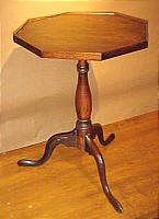 SOLD  Octagonal Top Candlestand