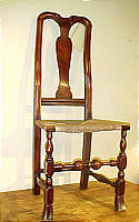 SOLD  Queen Anne Side Chair
