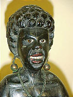 SOLD   Carved Wood Blackamoor