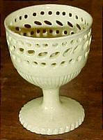 SOLD   Creamware Egg Cup