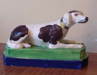 SOLD   Pearlware Dog