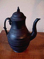 SOLD    Black Basalt Coffee Pot