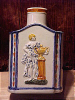 SOLD   Pearlware Tea Canister