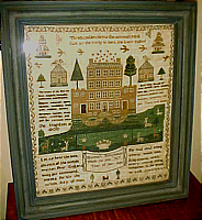 SOLD   Schoolgirl Sampler