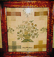 SOLD   English Darning Sampler