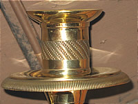 Elegant pair of Brass Sconces