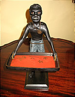 SOLD   Carved Figure of Blackamoor