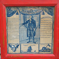 SOLD   GEORGE WASHINGTON PRINTED HANDKERCHIEF