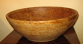 SOLD   American Burl Bowl