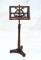 SOLD  Rosewood Music Stand